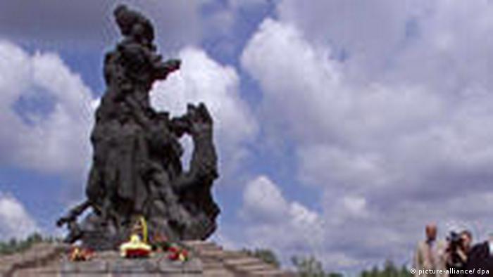 Denkmal für die Holocaust-Opfer von Babi Jar (picture-alliance/ dpa)