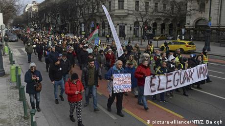 У Будапешті знову демонстрації проти