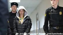 Russland Prozess Anastasia Vashukevich in Moskau