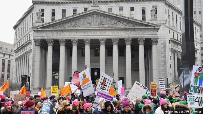 Women's March in New York