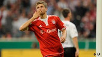 DFB Pokal Thomas Müller