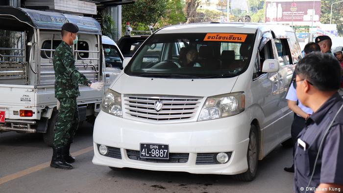 Grenzübergang Mae Sai / Tachileik Myanmar / Thailand