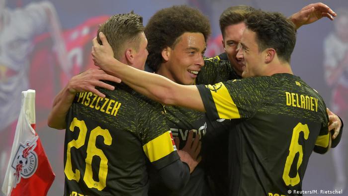 Bundesliga: Axel Witsel strike lifts Borussia Dortmund over Leipzig