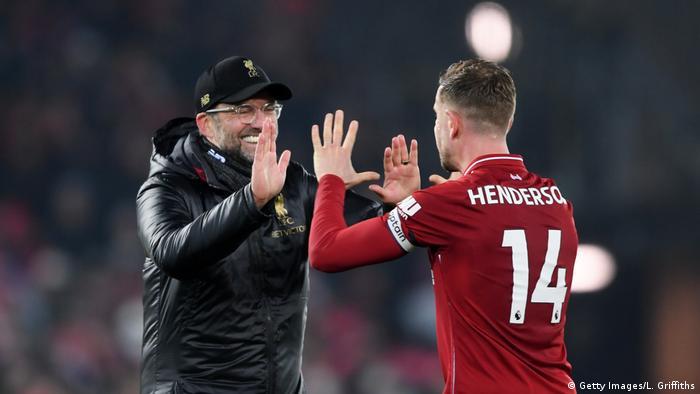 Fußball Jürgen Klopp Liverpool FC v Crystal Palace - Premier League