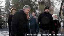 Kiew Gedenken Opfer Kämpfe um Flughafen Donetsk