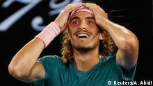 Australian Open Stefanos Tsitsipas Jubel