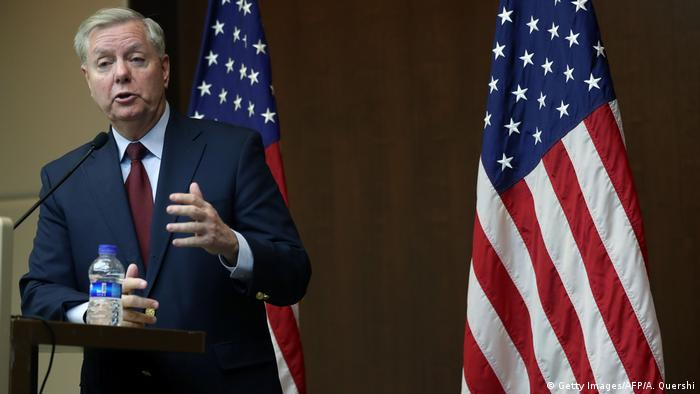 US-Senator Lindsey Graham (Getty Images/AFP/A. Quershi)