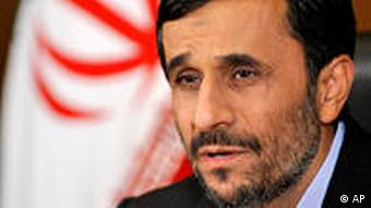 Ahmadinejad Interview Iran Präsident