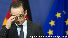 Belgien | Außenminister Maas in Brüssel