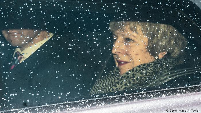 Theresa May (Getty Images/J. Taylor)