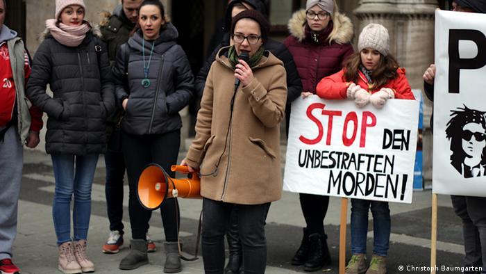 Zaustavite nekažnjeno ubijanje, poručuju prosvjednici.