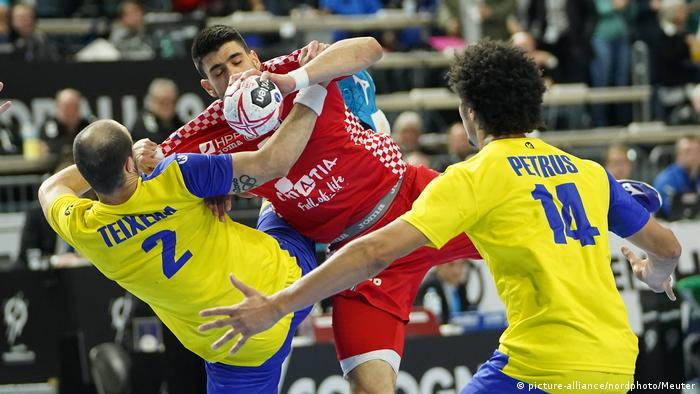 Handball WM Brasilien - Kroatien