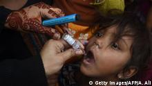 Pakistan Polio Impfung (Getty Images/AFP/A. Ali)