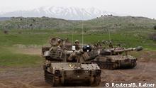 Golan Höhen israelische Soldaten Syrien