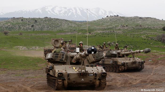 Golan Höhen israelische Soldaten Syrien (Reuters/B. Ratner)