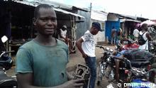 Fahrradmechaniker in Quelimane