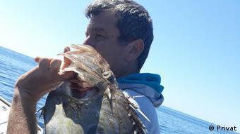 Petar Baranović živi od ribarenja i za njega