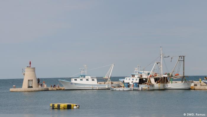 Ribarski brodovi u Rijeci