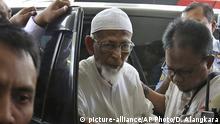 Indonesien Prozess Abu Bakar Bashir