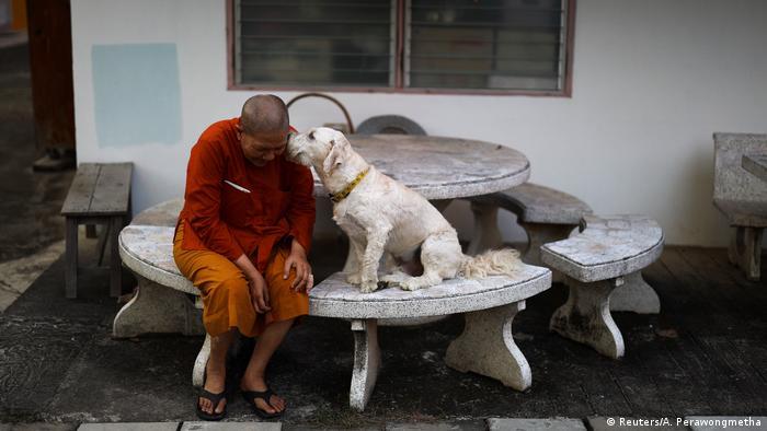 Thailand Buddhistische Frauen Mönche