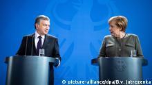 Deutschland Berlin Schawkat Mirsijojew, Präsident von Usbekistan & Angela Merkel, Bundeskanzlerin