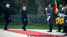 Deutschland Berlin Frank-Walter Steinmeier & Schawkat Mirsijojew, Präsident Usbekistan