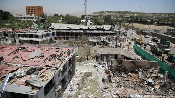 Serangan bom di Kabul pada 1 Juni 2017