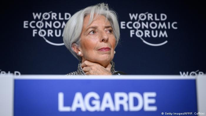 Weltwirtschaftsforum 2019 in Davos | Christine Lagarde, Internationaler Währungsfonds