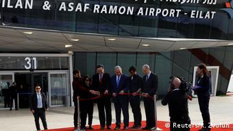 Israel Eröffnung des neuen Flughafens in Eilat