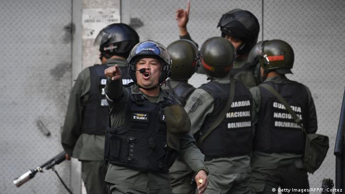 Venezuela - Bolivarian National Guard (Getty Images/AFP/Y. Cortez)