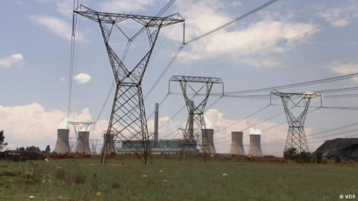 A coal plant in South Africa