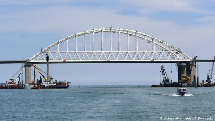 Міст над Керченською протокою, архівне фото