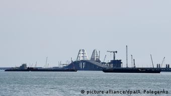 Η γέφυρα ανάμεσα σην Κριμαία και την πόλη Κέρτς θεωρείται η μεγαλύτερη στην Ευρώπη