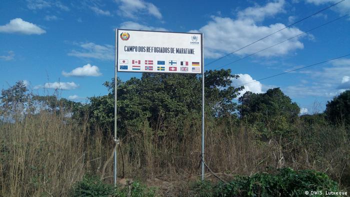 Mosambik Flüchtlingszentrum in Maratane