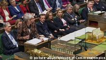 Großbritannien House of Commons in London | Theresa May, Premierministerin