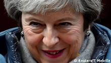 UK Brexit - Ministerpräsidentin Theresa May