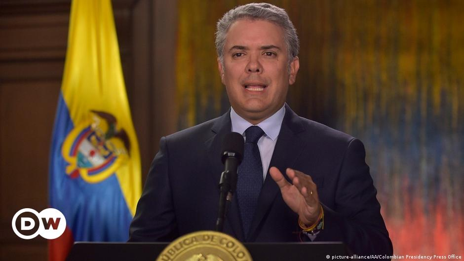 Colombia's president target of planned 'terrorist act'