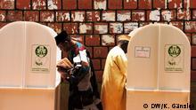 Nigeria Wahl - Wahlkarten