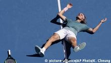 Tennis Australian Open 2019 Stefanos Tsitsipas (picture-alliance/AP Photo/K. Cheung)