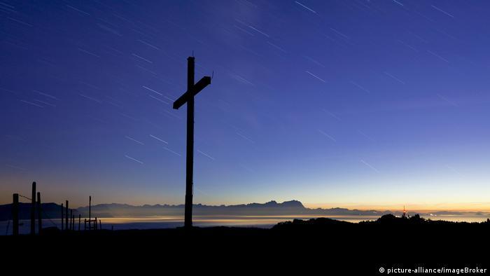 A cross in Austria