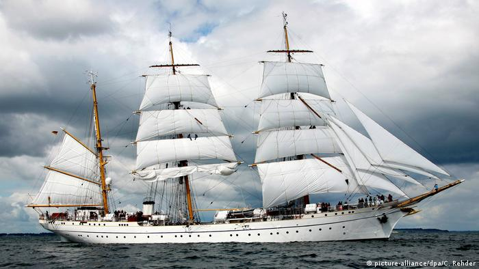 The Gorch Fock, Germany's naval training vessel (picture-alliance/dpa/C. Rehder)