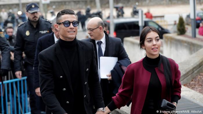 Spanien Cristiano Ronaldo Verhandlung im Steuerstrafverfahren