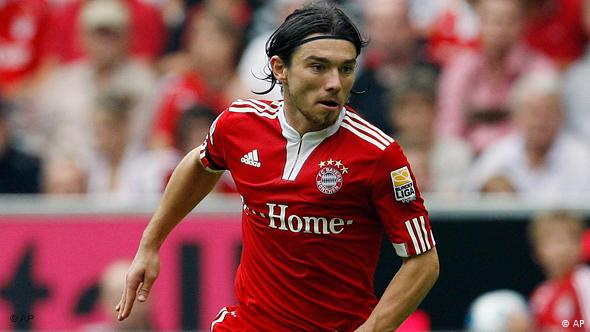 Bildergalerie kroatische Bundesligaspieler Danijel Pranjic