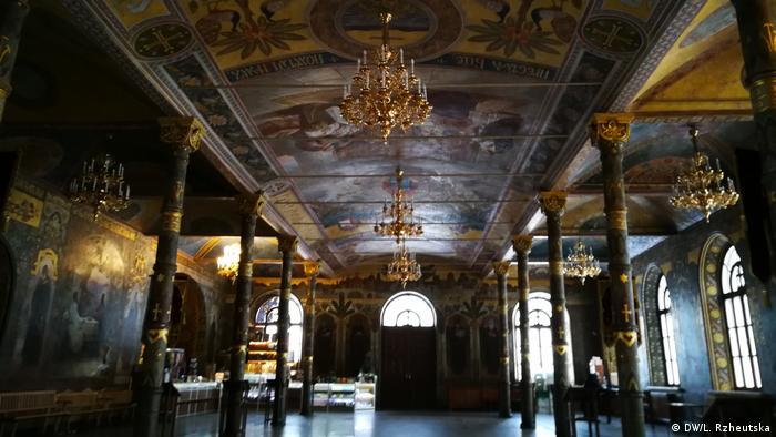 Трапезная палата в Киево-Печерской лавре