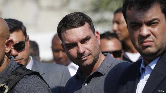 Flávio Bolsonaro, senador eleito e filho do presidente Jair Bolsonaro