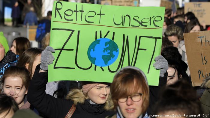 Klima-Demo in Hannover