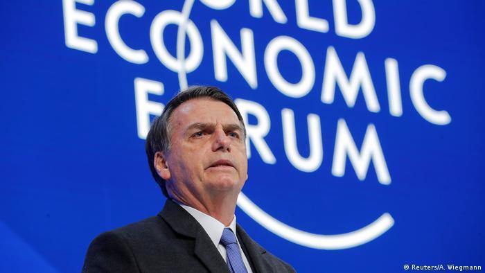 Weltwirtschaftsforum 2019 in Davos | Jair Bolsonaro, Präsident Brasilien