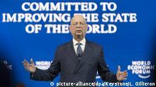 Weltwirtschaftsforum 2019 in Davos | Klaus Schwab, Gründer Weltwirtschaftsforum