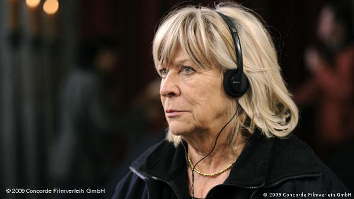 Dreharbeiten mit Margarete von Trotta (2009 Concorde Filmverleih GmbH)