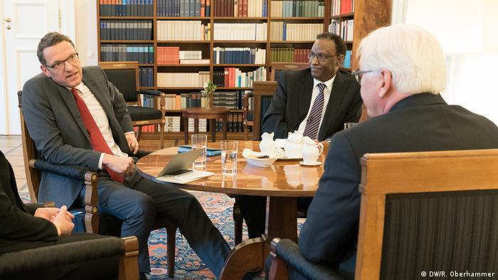 DW-Interview mit Frank-Walter Steinmeier